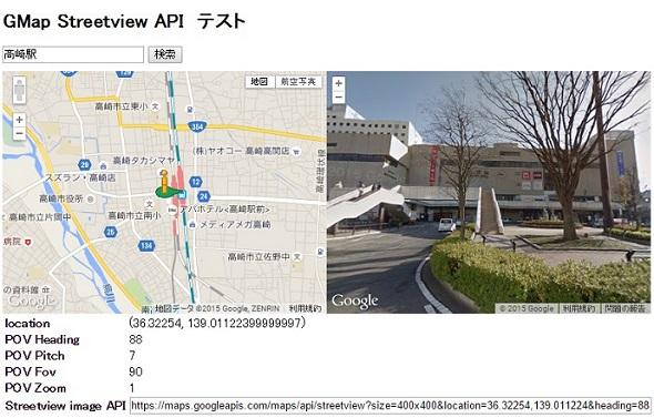 Streeview Image URL Generator